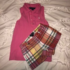 Girls Polo set